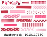 washi tape vector illustration. ...   Shutterstock .eps vector #1010117350
