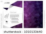 dark purple vector  cover for...
