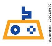 game flat minimal icon vector