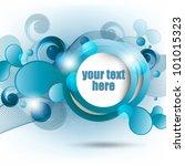 eps10 abstract bubble speech... | Shutterstock .eps vector #101015323