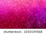 light purple  pink vector... | Shutterstock .eps vector #1010154568