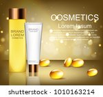 cosmetics. brand. means for...   Shutterstock .eps vector #1010163214