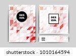 light orange vector brochure... | Shutterstock .eps vector #1010164594