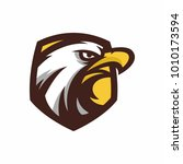animal head   eagle   vector... | Shutterstock .eps vector #1010173594