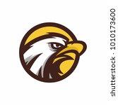 animal head   eagle   vector... | Shutterstock .eps vector #1010173600