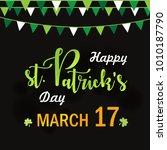 st. patrick's day  vector... | Shutterstock .eps vector #1010187790