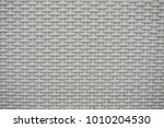 whilte rattan weave for closeup ... | Shutterstock . vector #1010204530