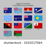 flags countries australia and... | Shutterstock . vector #1010217064