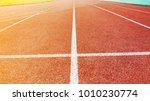 track red running | Shutterstock . vector #1010230774