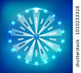 fortune wheel spin vector... | Shutterstock .eps vector #1010233318
