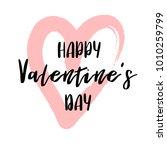 hand drawn lettering for... | Shutterstock .eps vector #1010259799