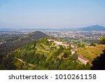 lombard rolling hills landscape ... | Shutterstock . vector #1010261158