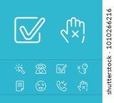 cursor icon with checkbox ...