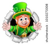 a cute st patricks day... | Shutterstock .eps vector #1010273308