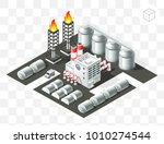 isometric high quality city... | Shutterstock .eps vector #1010274544