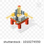 isometric high quality city...   Shutterstock .eps vector #1010274550