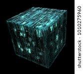 3d rendered complex structured... | Shutterstock . vector #1010275960