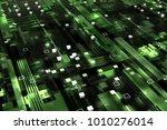 3d rendered complex structured... | Shutterstock . vector #1010276014