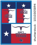 don't mess with texas with star ... | Shutterstock .eps vector #1010305894