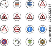 line vector icon set  ... | Shutterstock .eps vector #1010322589