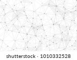 white background with points ... | Shutterstock .eps vector #1010332528