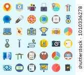 icons set about digital... | Shutterstock .eps vector #1010336278