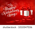 happy valentines day. holiday... | Shutterstock .eps vector #1010347036