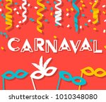 brazil carnival event sign ... | Shutterstock .eps vector #1010348080