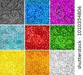 disco colors seamless...   Shutterstock .eps vector #1010354806