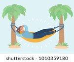 vector cartoon illustration of... | Shutterstock .eps vector #1010359180