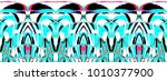 colorful horizontal... | Shutterstock . vector #1010377900