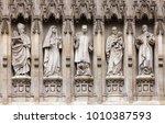 Westminster Abbey Facade Detai...