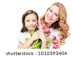 Portrait Of Happy Mother And...