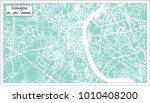 cologne germany city map in... | Shutterstock .eps vector #1010408200