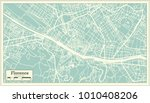 florence italy city map in... | Shutterstock .eps vector #1010408206