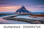 Mont Saint Michel View In The...