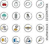 line vector icon set  ...   Shutterstock .eps vector #1010447566