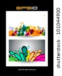 abstract background   eps 10... | Shutterstock .eps vector #101044900