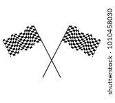 Racing Flag Of The Winner...