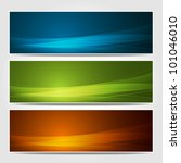 Banners Modern Wave Design ...