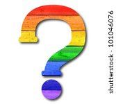 Wooden Rainbow Alphabet With...