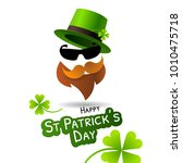 symbol of saint patrick's day... | Shutterstock .eps vector #1010475718