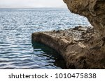 Rocky Ledge On The Edge Of The...
