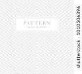 simple chevron seamless pattern.... | Shutterstock .eps vector #1010506396