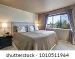 master bedroom interior... | Shutterstock . vector #1010511964