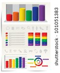 infographic elements for web... | Shutterstock .eps vector #101051383