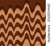 melted chocolate sweet pattern... | Shutterstock .eps vector #1010514460