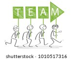 leadership boss management... | Shutterstock .eps vector #1010517316