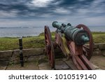 Ancient Cannons On The Walls O...