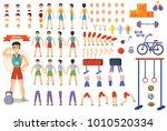 man athlete vector constructor...   Shutterstock .eps vector #1010520334